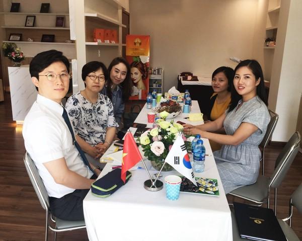 Cuộc gặp giữa Trần Minh Group và đại diện Trường Đại học Nữ Kwangju