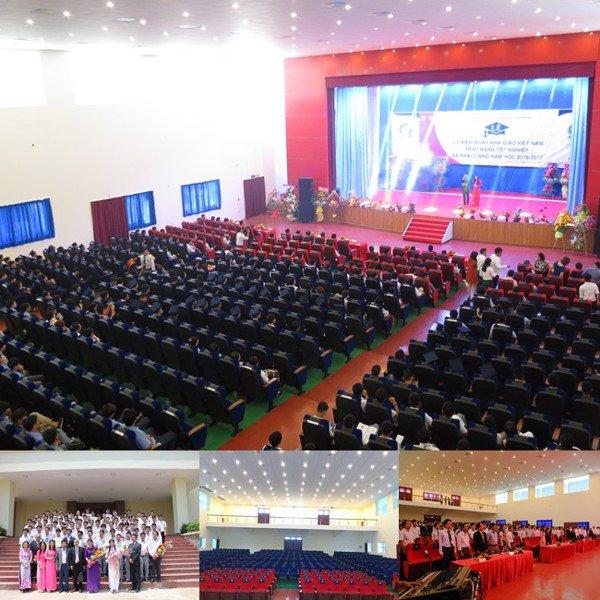 Hội trường Trường Cao đẳng Công nghệ cao Đồng An