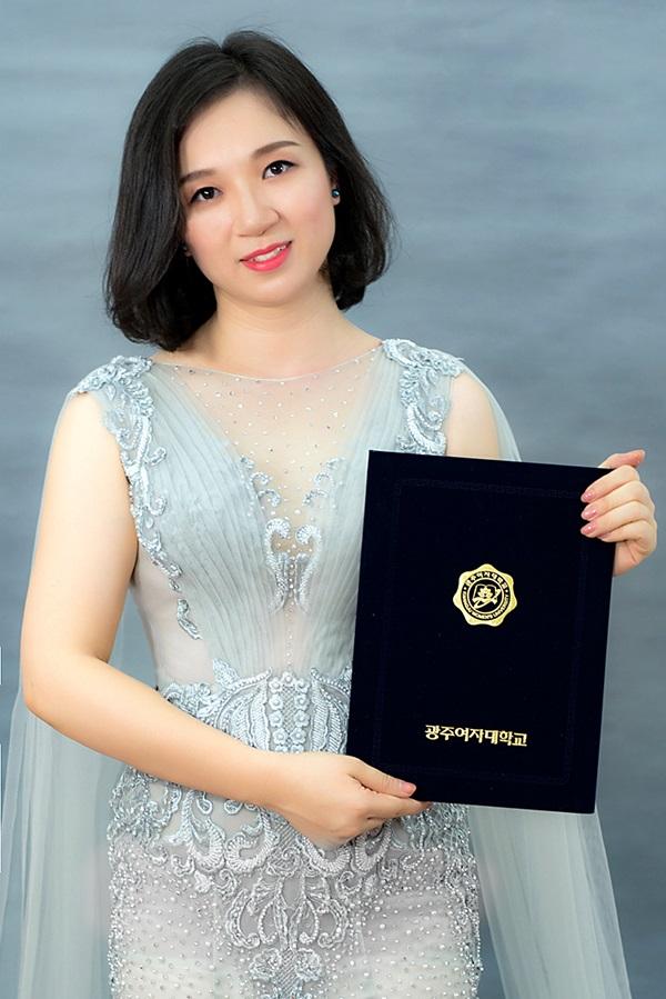 Chị Hoàng Thị Tuyết Trinh - Giám đốc điều hành TMV Thu Vân